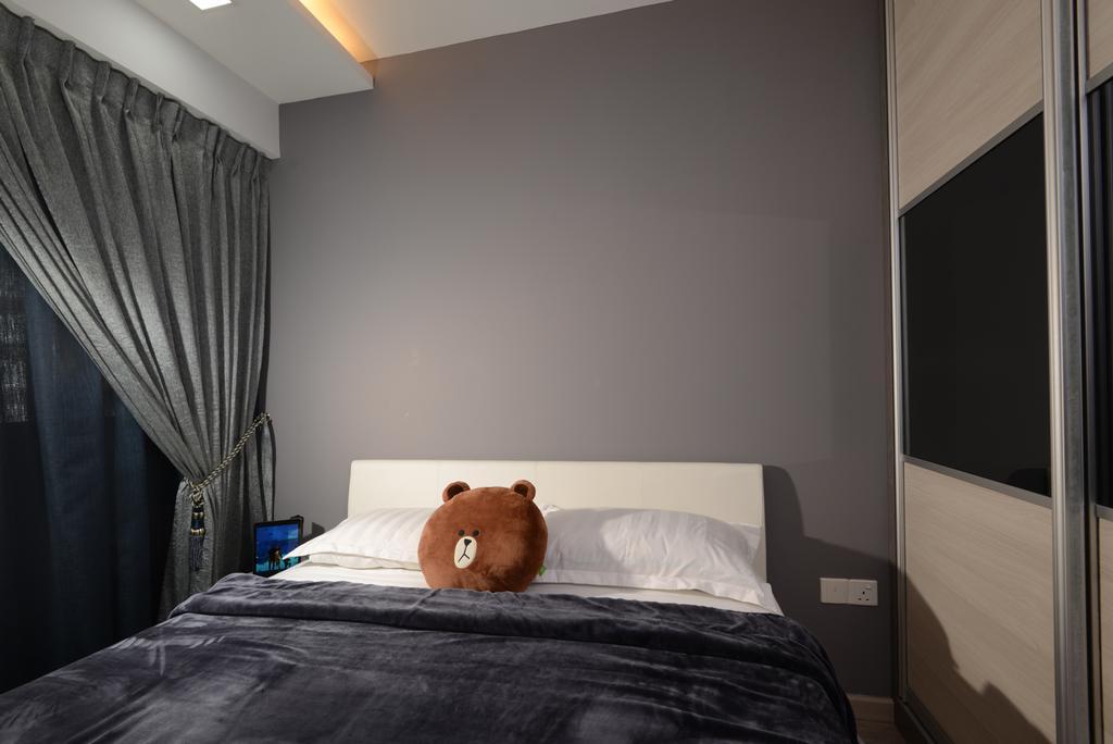 Contemporary, HDB, Bedroom, Marsiling Road, Interior Designer, Darwin Interior