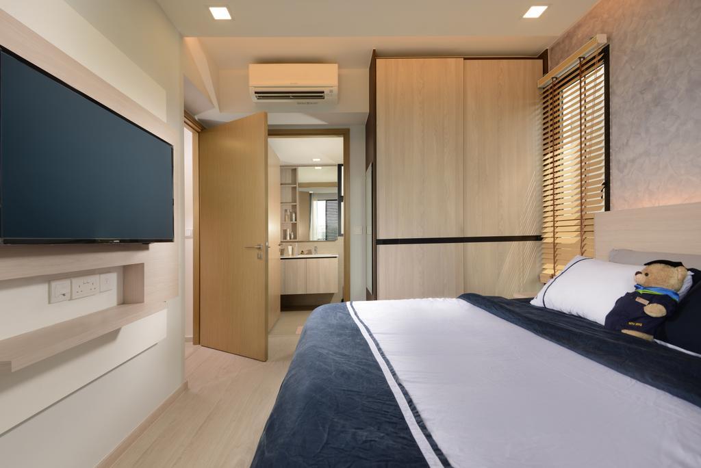Scandinavian, Condo, Bedroom, Westwood Residences, Interior Designer, Darwin Interior, Contemporary