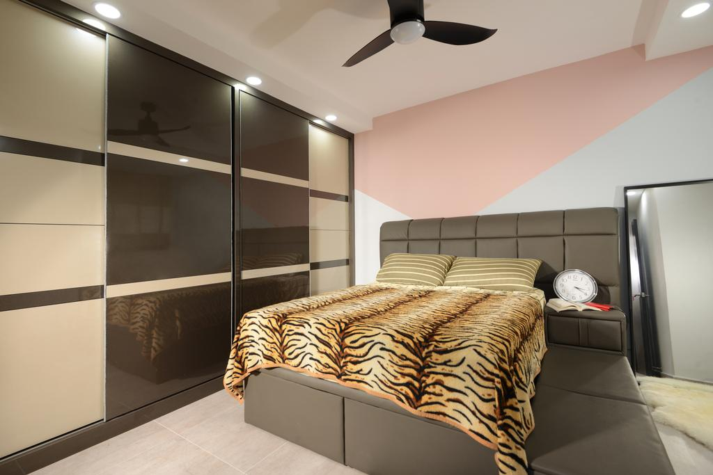 Contemporary, HDB, Bedroom, Jurong West Street 24, Interior Designer, Darwin Interior