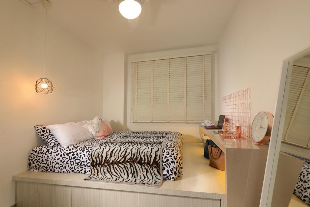 Contemporary, HDB, Bedroom, Jurong West Street 24, Interior Designer, Darwin Interior