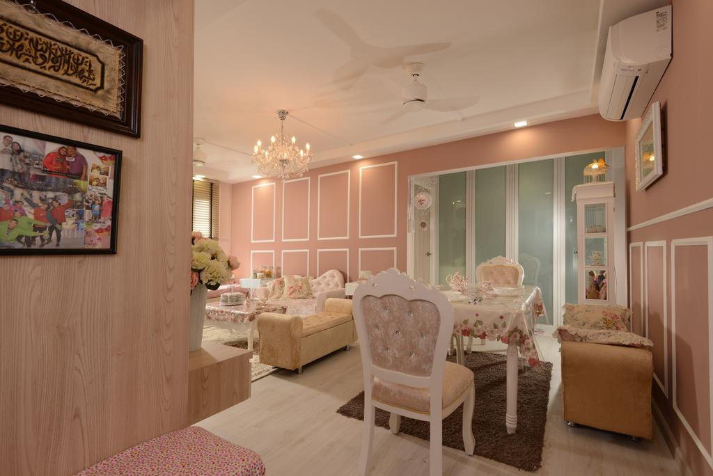 Vintage, HDB, Dining Room, Pasir Ris Drive 6, Interior Designer, Darwin Interior, Contemporary