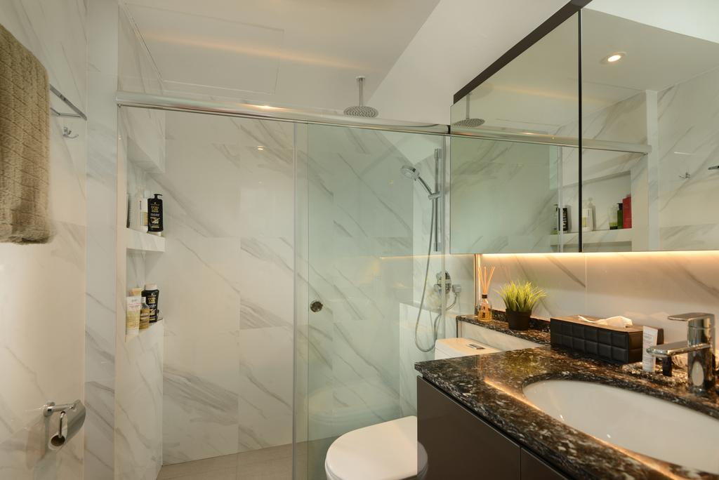 Contemporary, Condo, Bathroom, Second Avenue Junction, Interior Designer, Darwin Interior