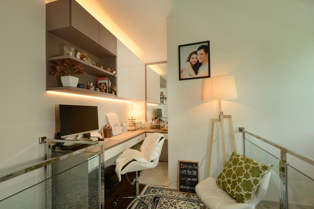 Contemporary, Condo, Study, Second Avenue Junction, Interior Designer, Darwin Interior