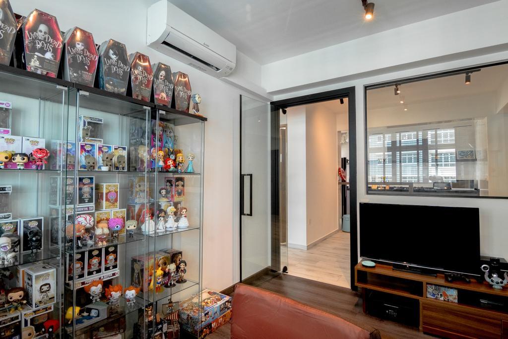 Contemporary, HDB, Study, Bukit Batok West, Interior Designer, 9 Creation