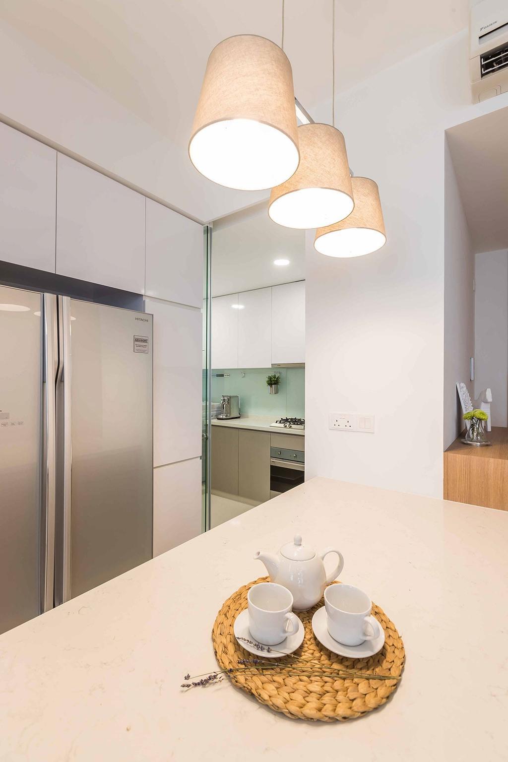 Contemporary, Condo, Kitchen, The Trilinq, Interior Designer, Icon Interior Design