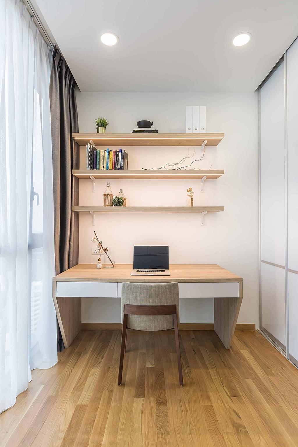 Contemporary, Condo, Study, The Trilinq, Interior Designer, Icon Interior Design