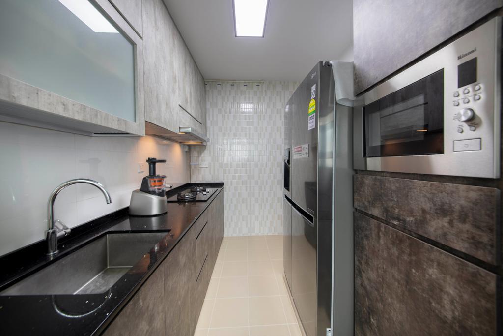 Contemporary, HDB, Kitchen, Bukit Batok West Avenue 8, Interior Designer, U-Home Interior Design