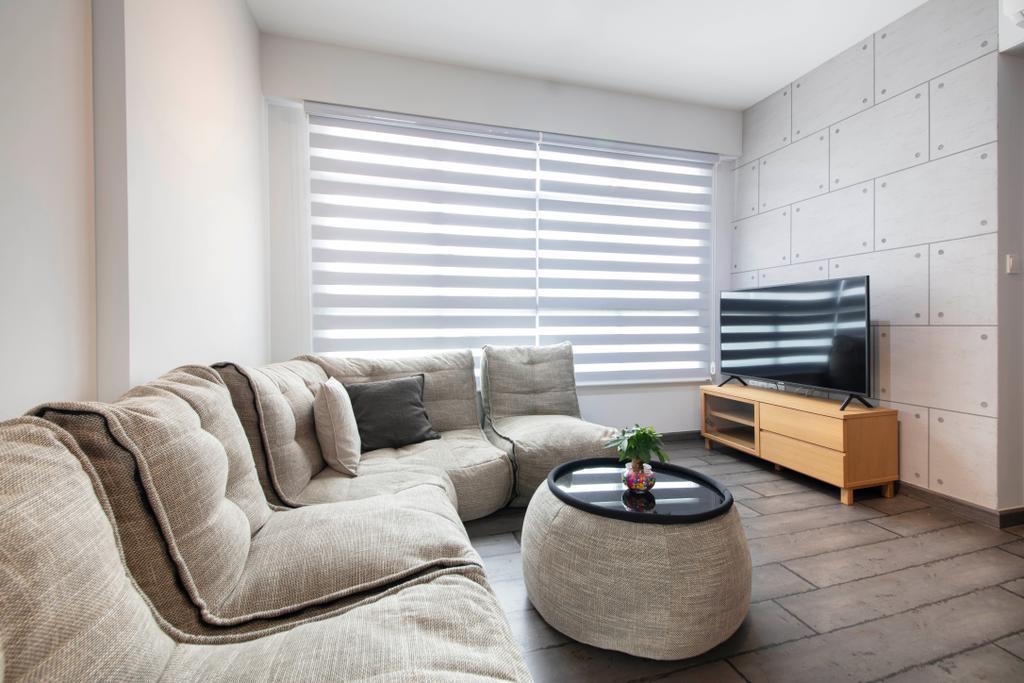 Contemporary, HDB, Living Room, Bukit Batok West Avenue 8, Interior Designer, U-Home Interior Design