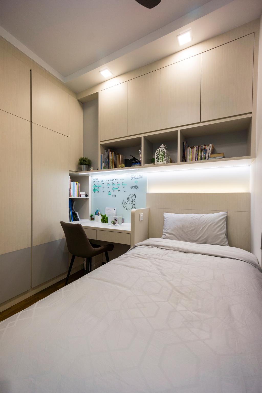Contemporary, Condo, Bedroom, Palm Gardens, Interior Designer, Flo Design