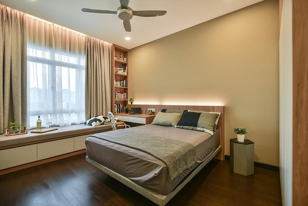 Contemporary, Condo, Bedroom, Saville Residence, KL, Interior Designer, IQI Concept Interior Design & Renovation