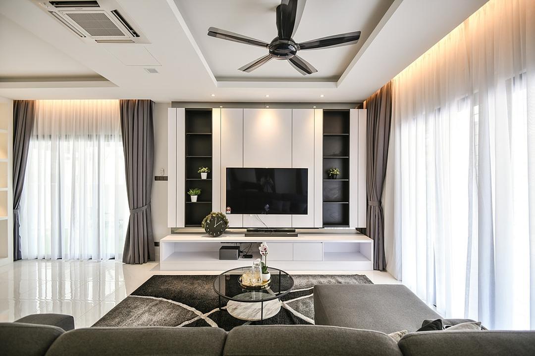 Setia Damai Living Room Interior Design 5