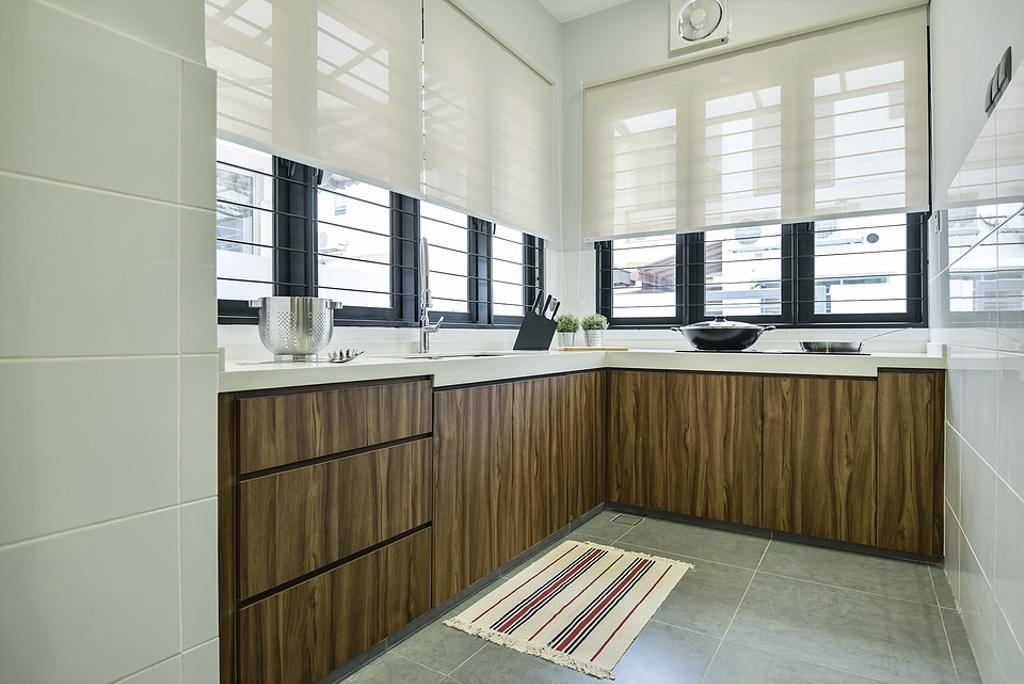 Contemporary, Landed, Kitchen, Setia Damai, Interior Designer, IQI Concept Interior Design & Renovation