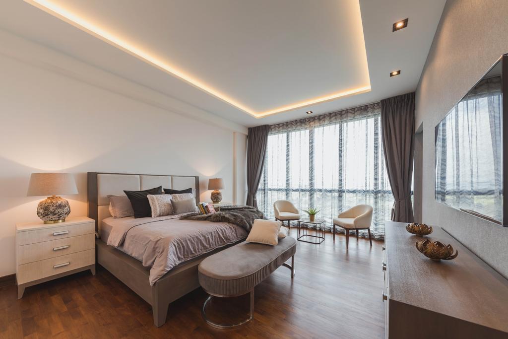 Contemporary, Condo, Bedroom, Water Place, Interior Designer, Home Philosophy