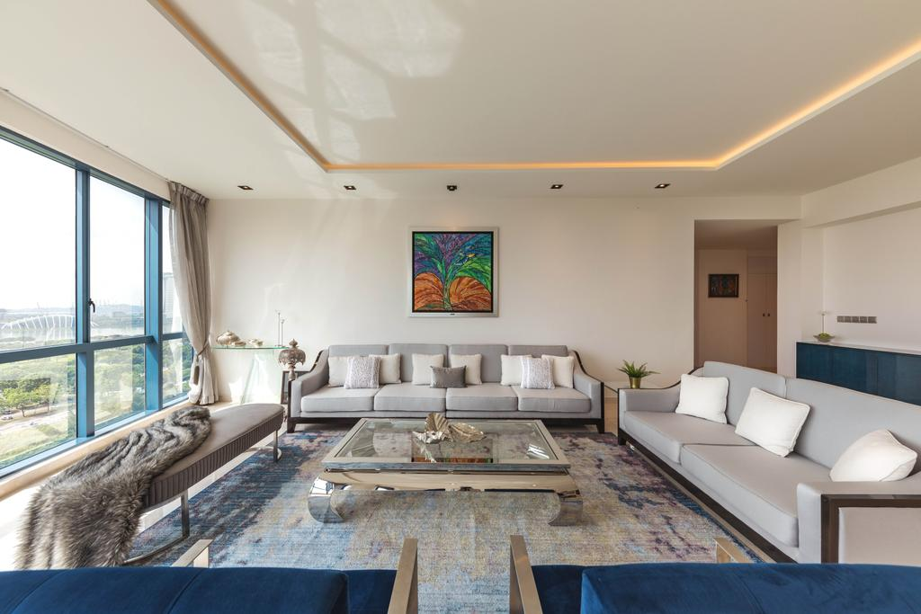 Contemporary, Condo, Living Room, Water Place, Interior Designer, Home Philosophy