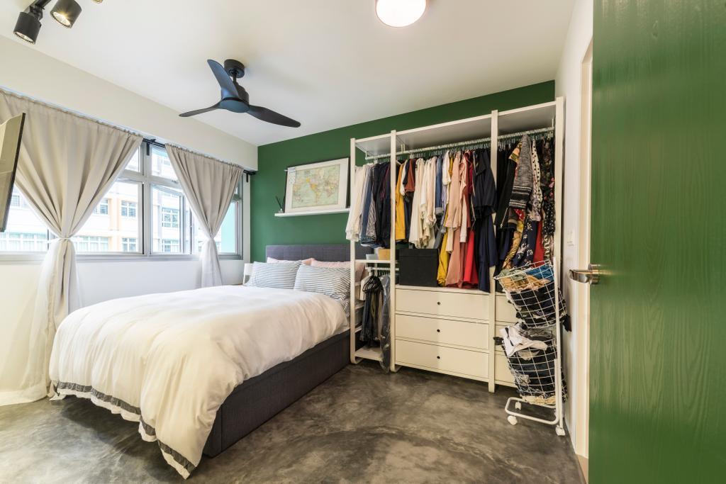 Modern, HDB, Bedroom, Upper Aljunied Lane, Interior Designer, Meter Square