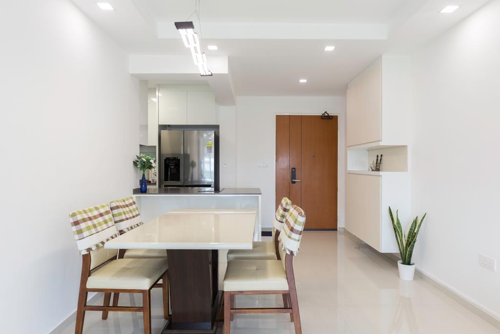 Contemporary, HDB, Dining Room, Clementi Avenue 1, Interior Designer, Starry Homestead
