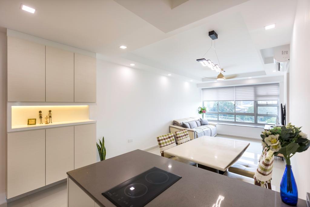 Contemporary, HDB, Clementi Avenue 1, Interior Designer, Starry Homestead