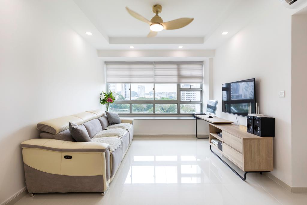 Contemporary, HDB, Living Room, Clementi Avenue 1, Interior Designer, Starry Homestead