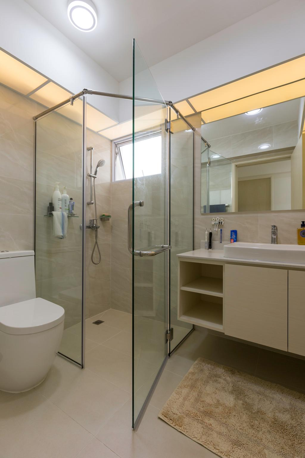 Contemporary, HDB, Bathroom, Clementi Avenue 1, Interior Designer, Starry Homestead