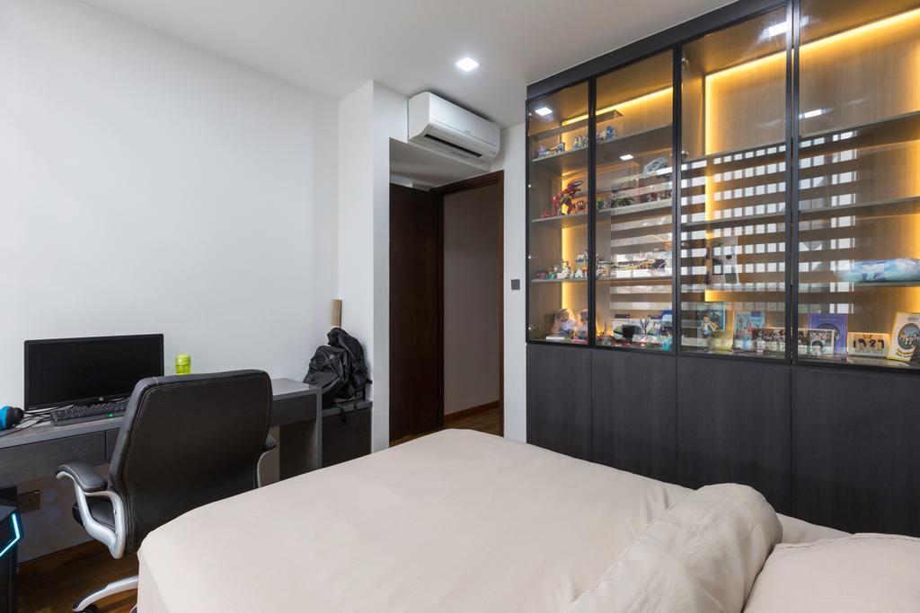 Contemporary, Condo, Bedroom, Marlene Ville, Interior Designer, U-Home Interior Design