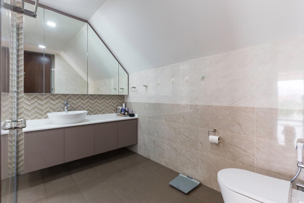 Contemporary, Condo, Bathroom, Marlene Ville, Interior Designer, U-Home Interior Design