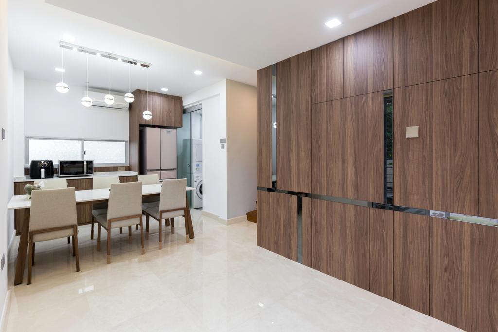 Contemporary, Condo, Dining Room, Marlene Ville, Interior Designer, U-Home Interior Design
