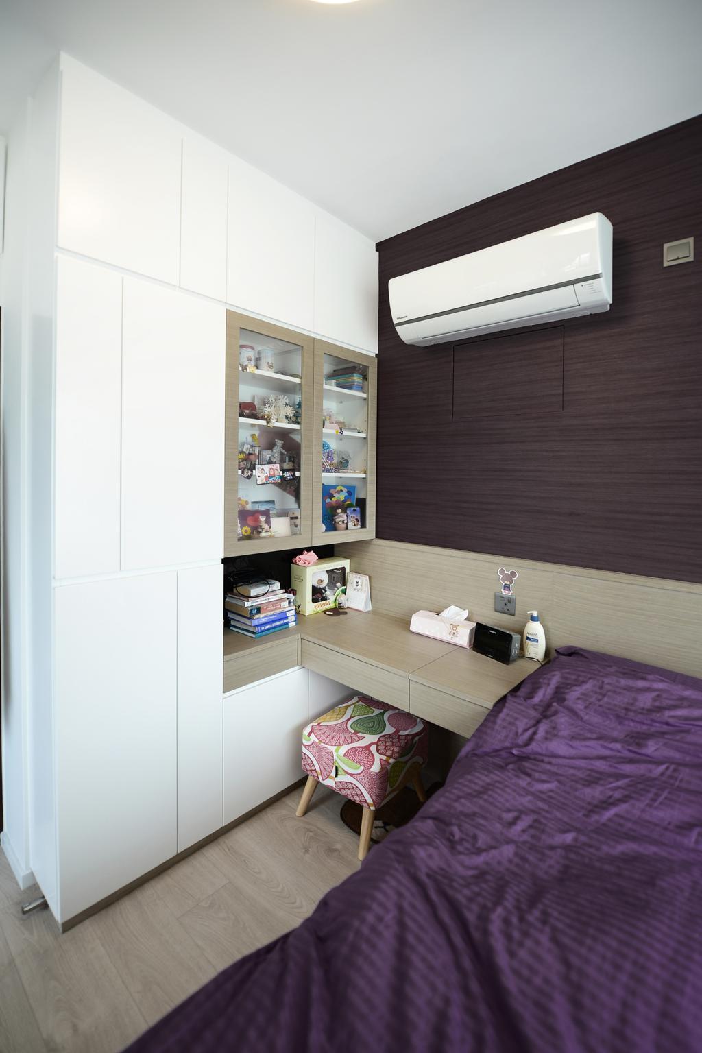 簡約, 私家樓, 睡房, 顯峰, 室內設計師, 爾雋設計, 摩登