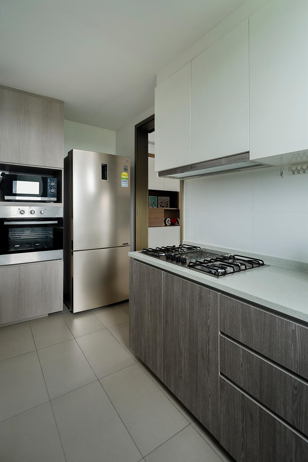 Contemporary, Condo, Kitchen, CityLife @ Tampines, Interior Designer, Cozy Ideas Interior Design