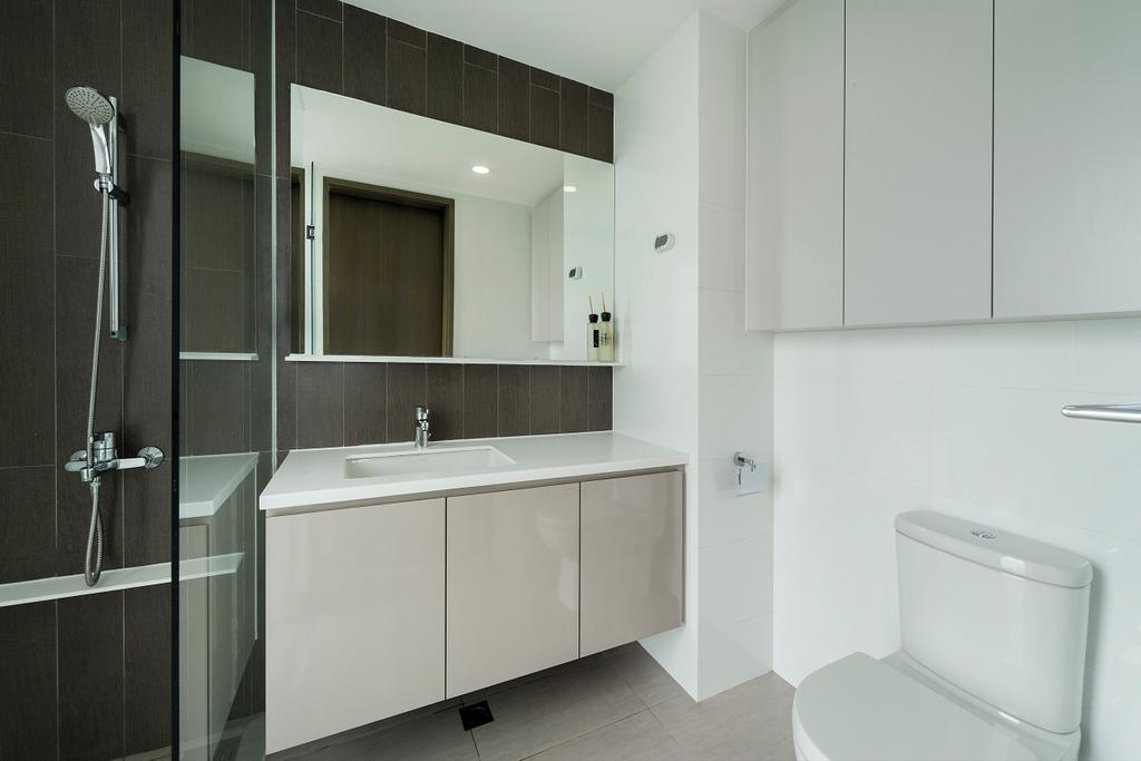 Contemporary, Condo, Bathroom, CityLife @ Tampines, Interior Designer, Cozy Ideas Interior Design