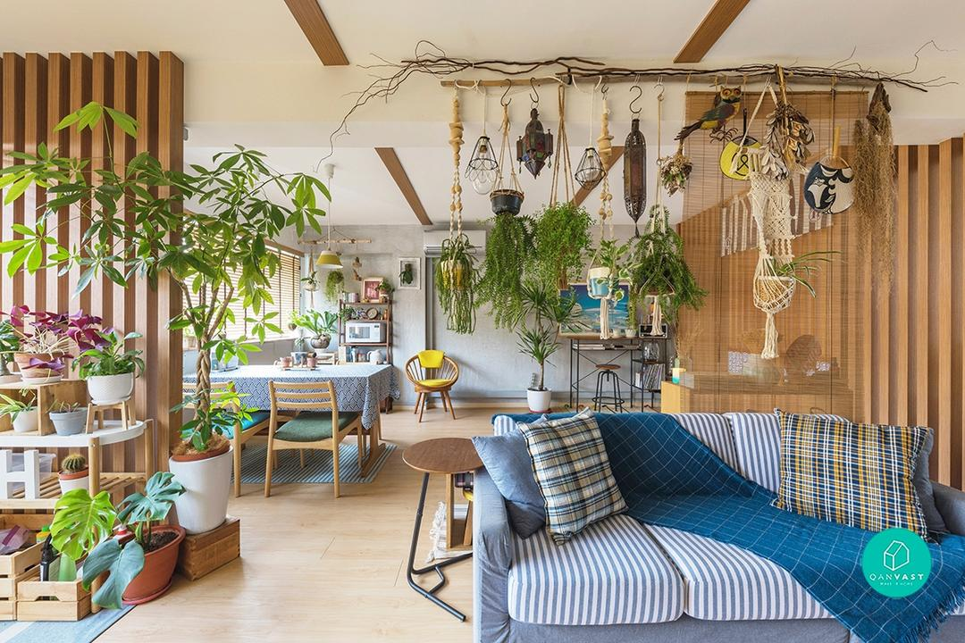 In This Homey, Japanese 'Zakka'-Inspired Flat, Anything Goes 13