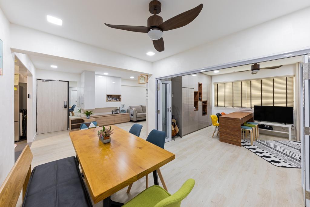 Contemporary, HDB, Dining Room, Bishan Street 24, Interior Designer, Goodman Interior