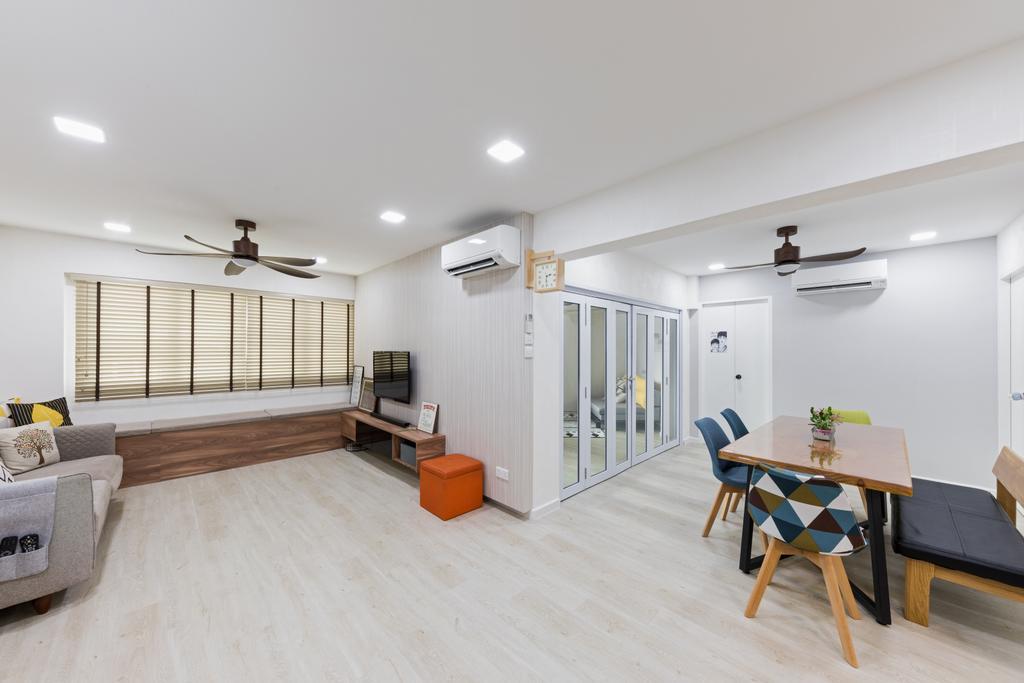 Contemporary, HDB, Living Room, Bishan Street 24, Interior Designer, Goodman Interior