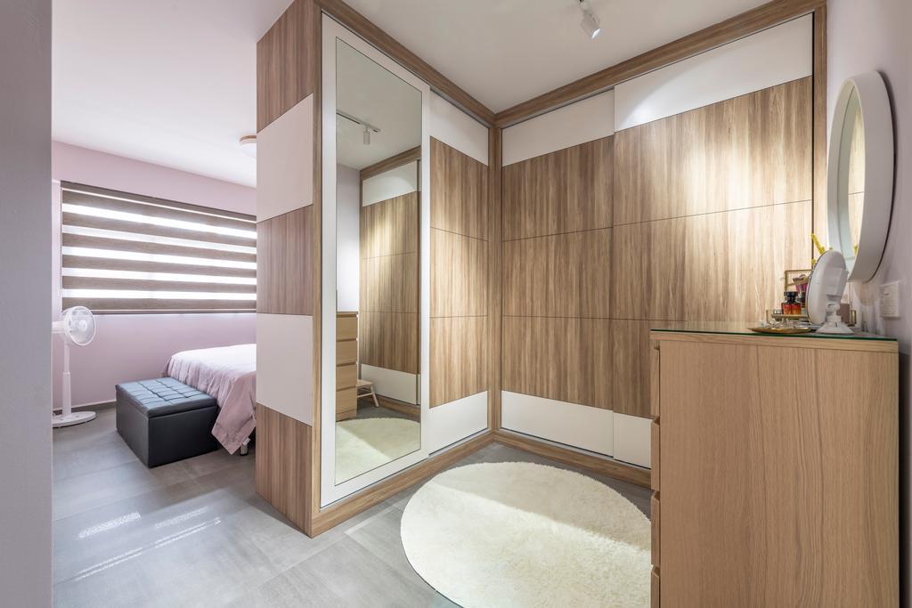Contemporary, HDB, Bedroom, Bukit Batok West Avenue 8, Interior Designer, Starry Homestead, Scandinavian