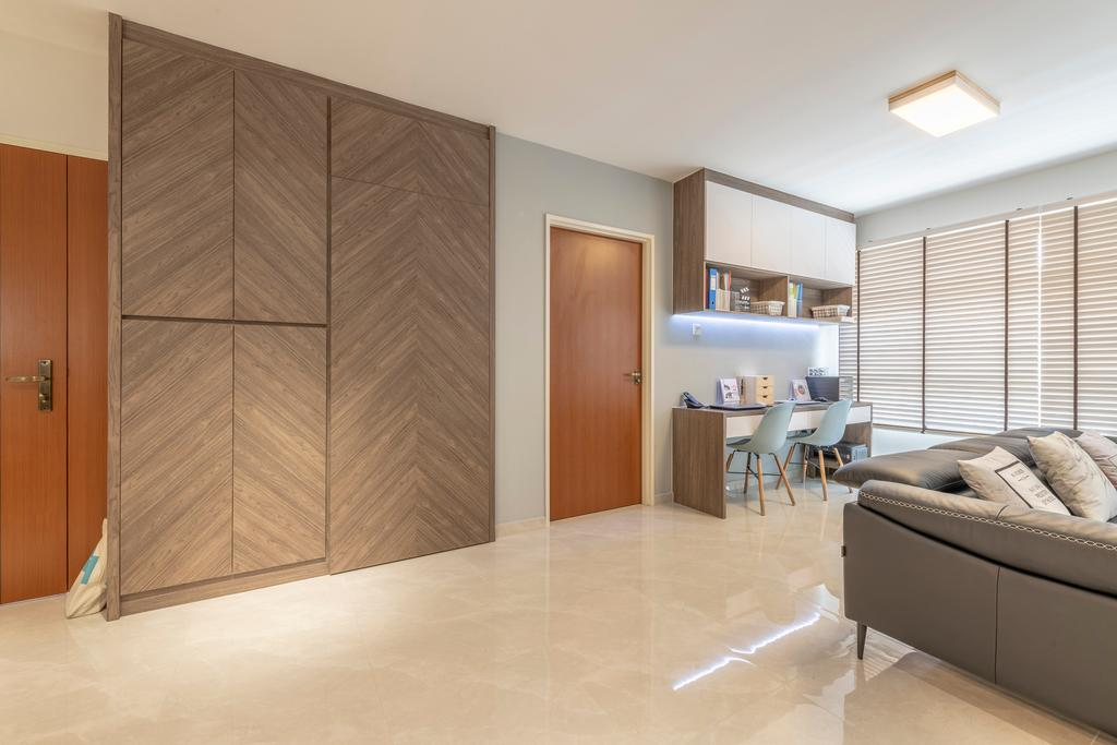 Contemporary, HDB, Living Room, Bukit Batok West Avenue 8, Interior Designer, Starry Homestead, Scandinavian
