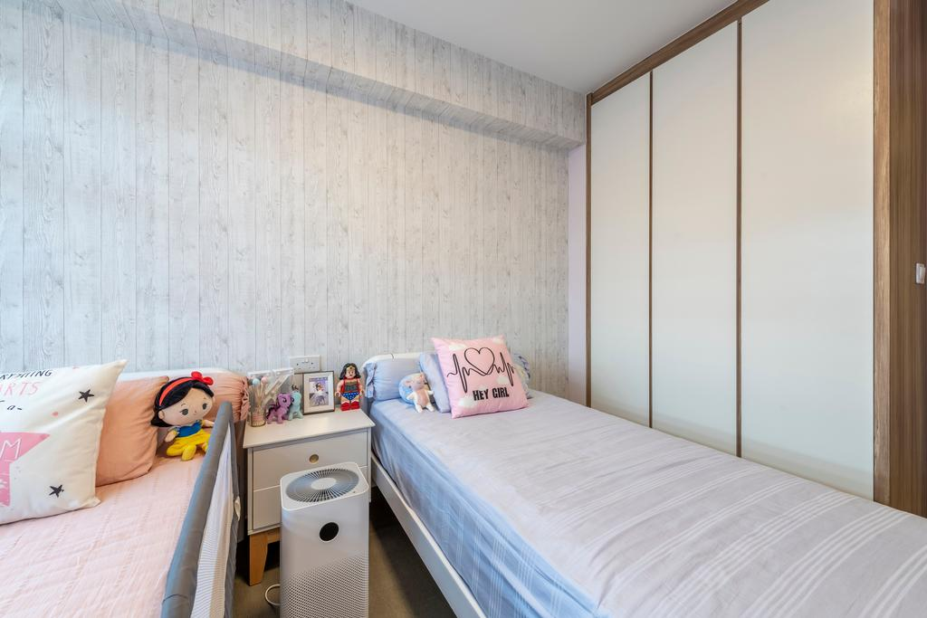 Contemporary, HDB, Bedroom, Bukit Batok West Avenue 8, Interior Designer, Starry Homestead, Scandinavian