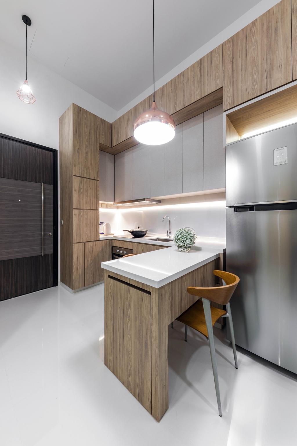 Contemporary, Condo, Kitchen, Tivoli Grande, Interior Designer, Craftwerkz Interior