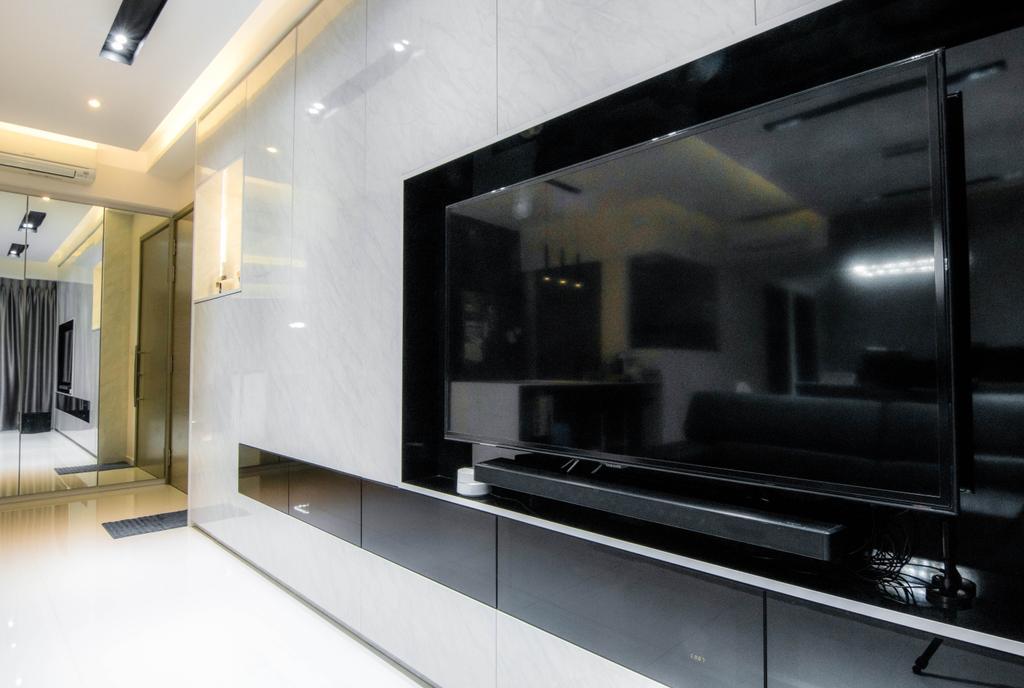 Contemporary, Condo, Living Room, The Terrace, Interior Designer, 9 Creation