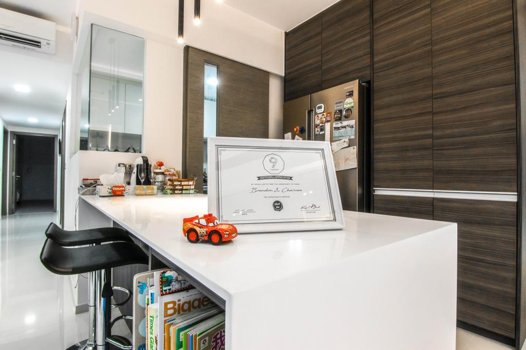 Contemporary, Condo, Kitchen, The Terrace, Interior Designer, 9 Creation