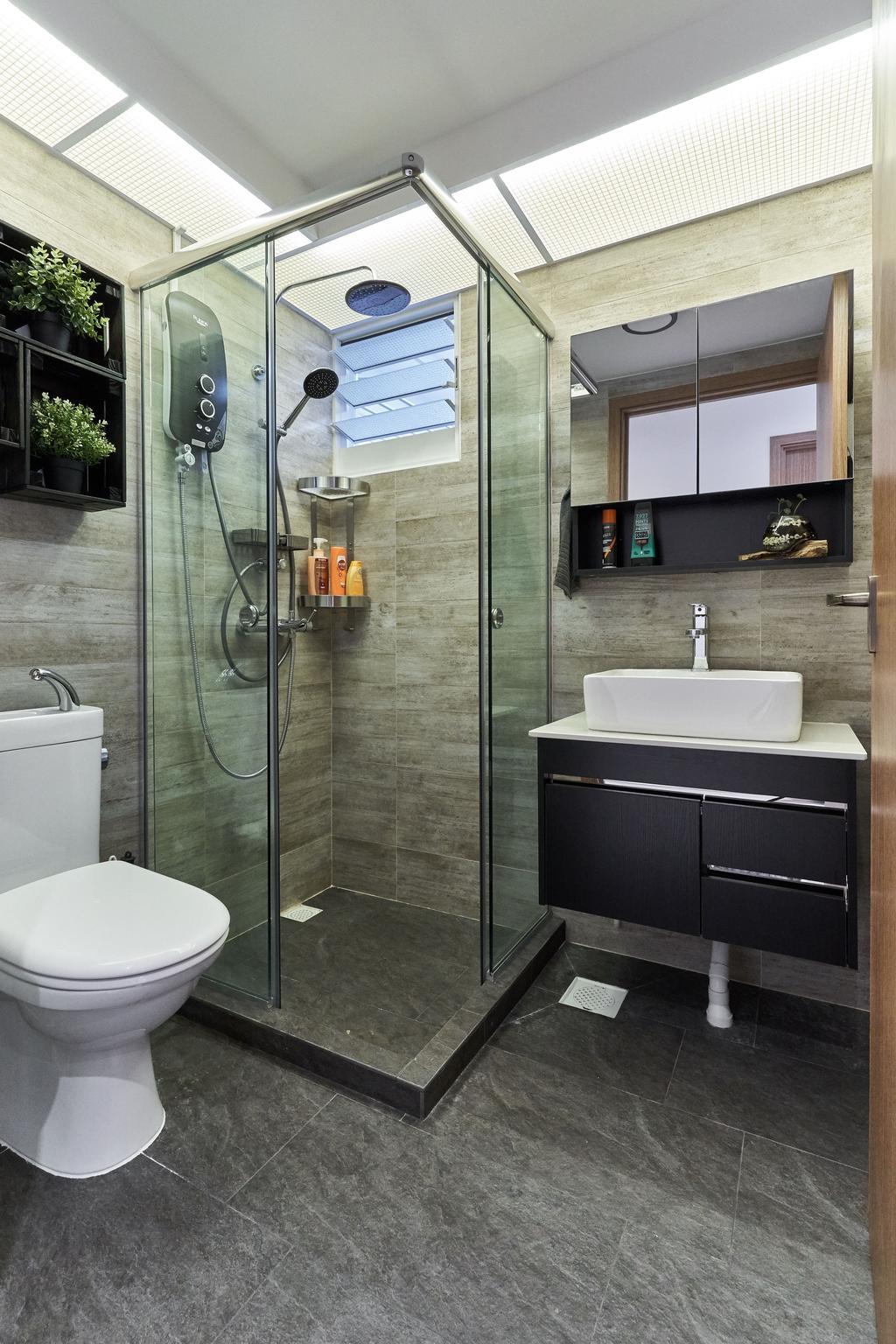 Contemporary, HDB, Bathroom, Bukit Batok West, Interior Designer, Charlotte's Carpentry