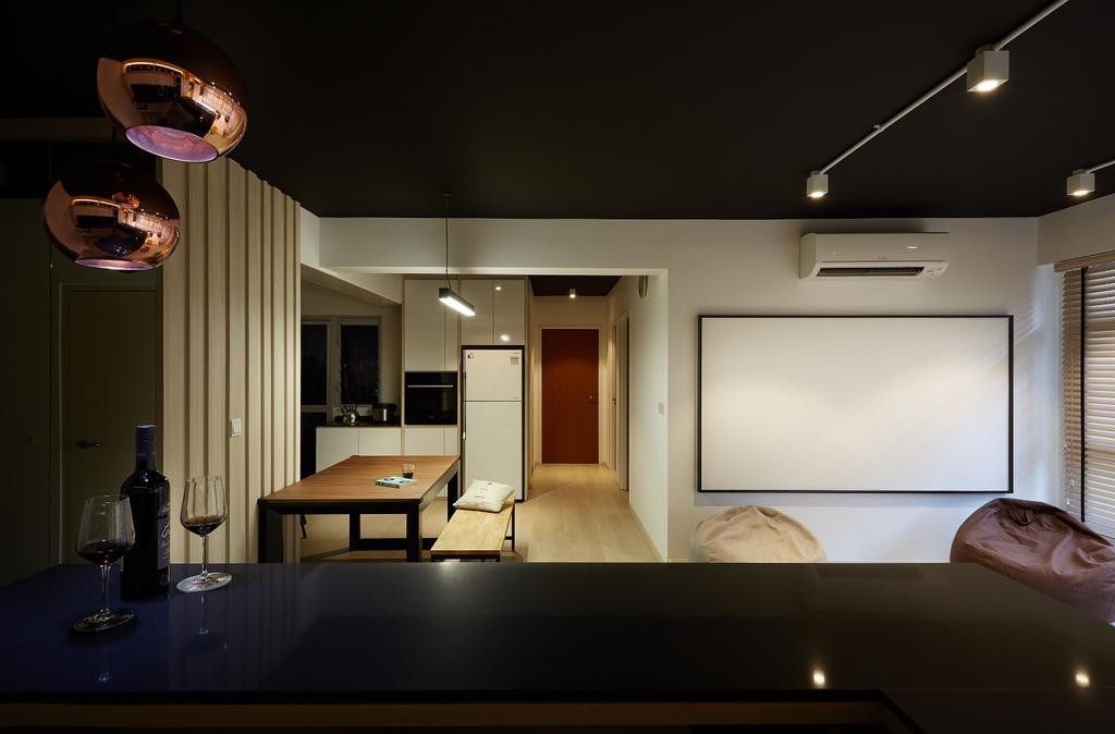 Modern, HDB, Dining Room, Woodlands Drive, Interior Designer, D5 Studio Image