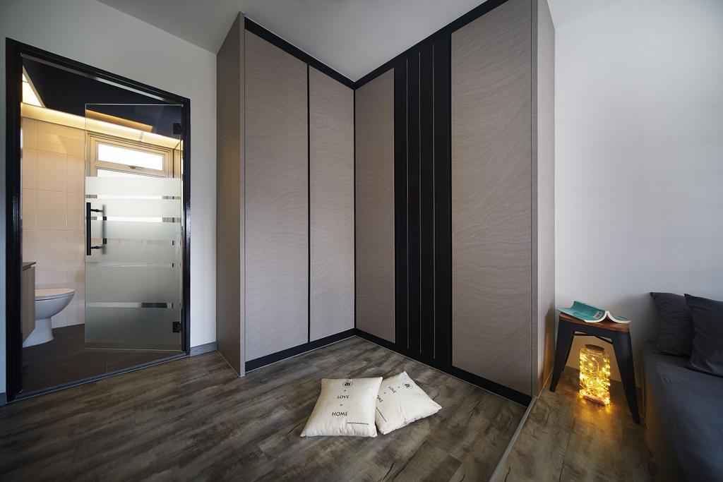 Modern, HDB, Bedroom, Woodlands Drive, Interior Designer, D5 Studio Image