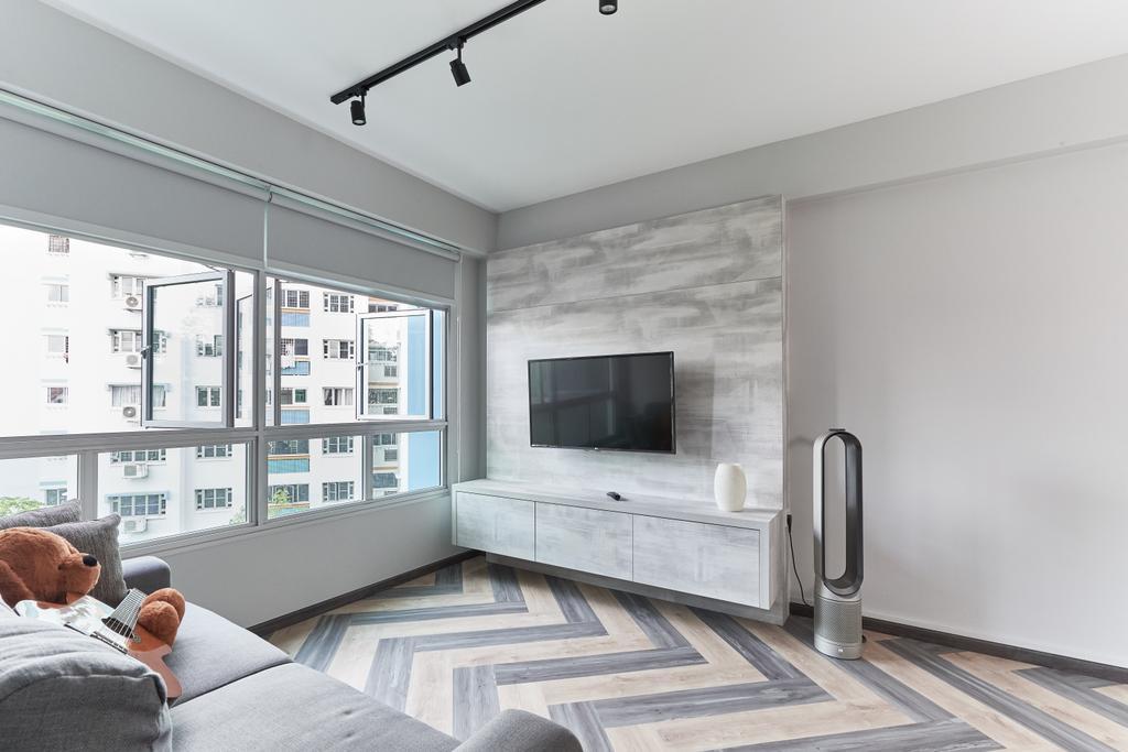 Contemporary, HDB, Living Room, Upper Aljunied Lane, Interior Designer, The Interior Place