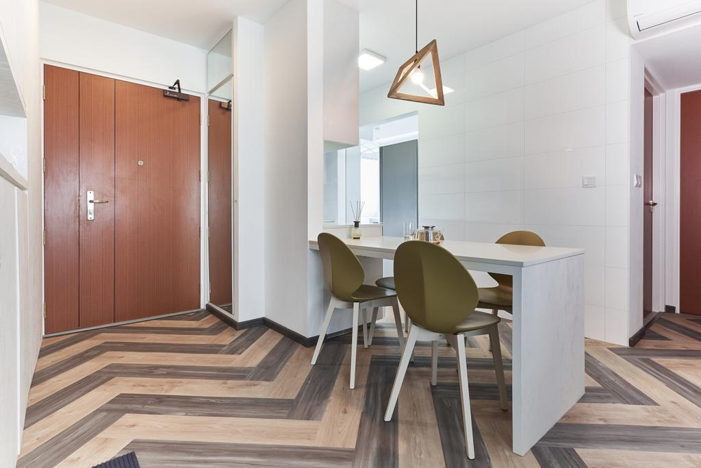 Contemporary, HDB, Dining Room, Upper Aljunied Lane, Interior Designer, The Interior Place