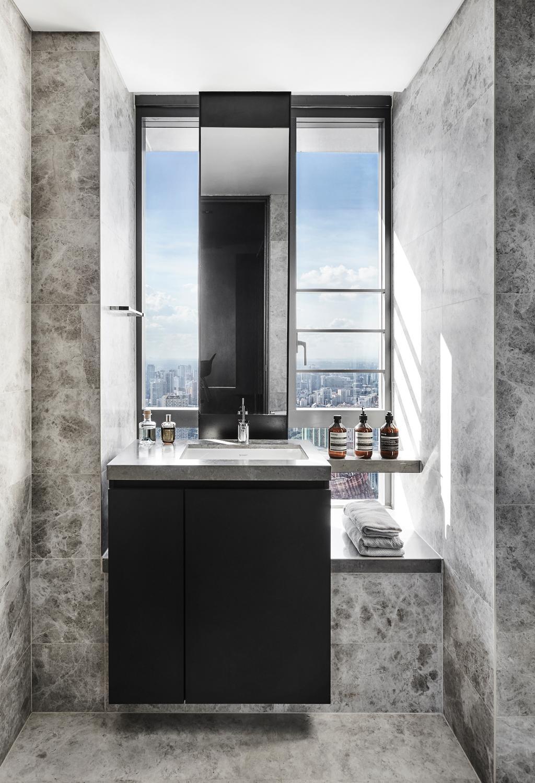 Contemporary, Condo, Bathroom, Skysuites @ Anson, Interior Designer, IN-EXPAT