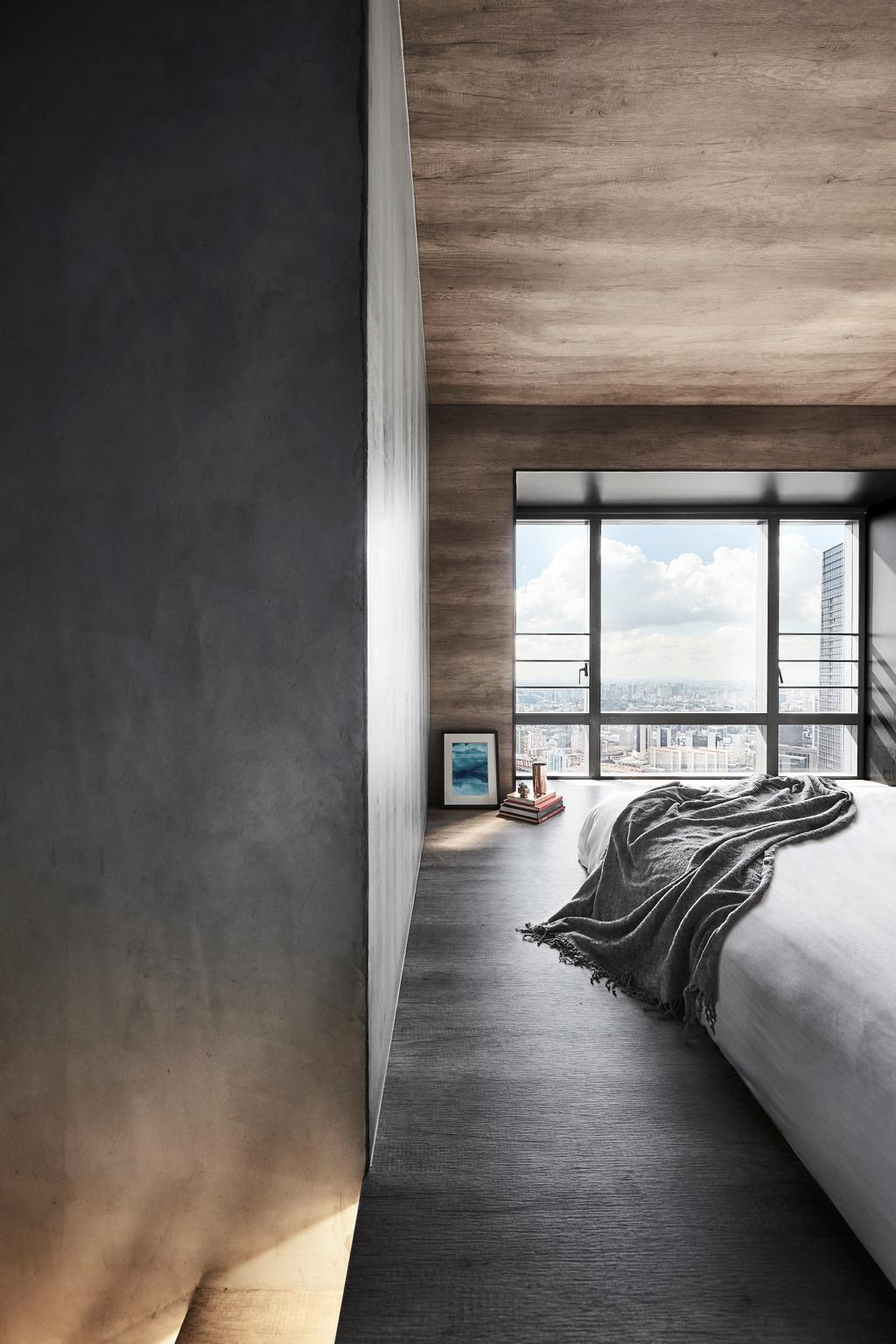 Contemporary, Condo, Bedroom, Skysuites @ Anson, Interior Designer, IN-EXPAT