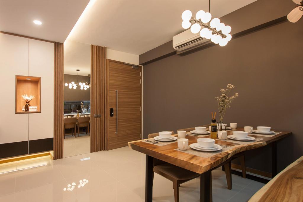 Contemporary, Condo, Dining Room, Wandervale, Interior Designer, Space Atelier