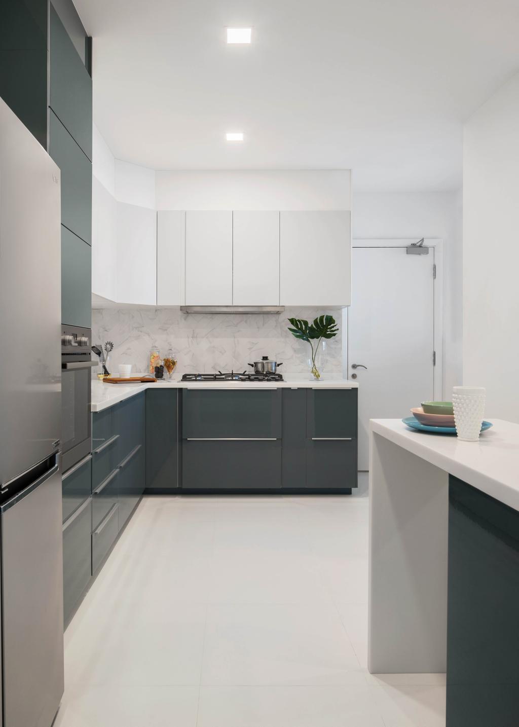 Contemporary, Condo, Kitchen, Water Place, Interior Designer, Home Philosophy