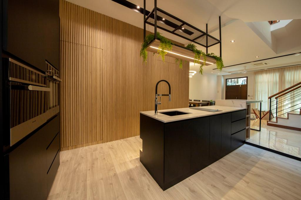 Contemporary, Landed, Kitchen, La Salle Street, Interior Designer, Edge Interior
