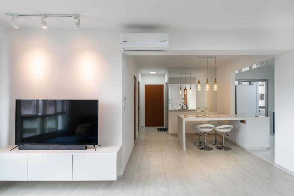 Contemporary, HDB, Dining Room, Canberra Street, Interior Designer, NID Design Group