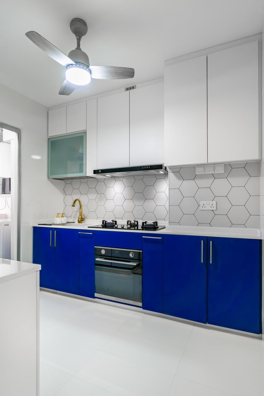 Contemporary, HDB, Kitchen, Canberra Street, Interior Designer, NID Design Group